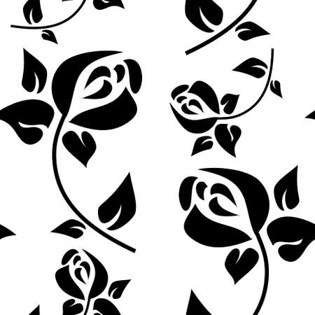 Seamless pattern in  style of Art Deco