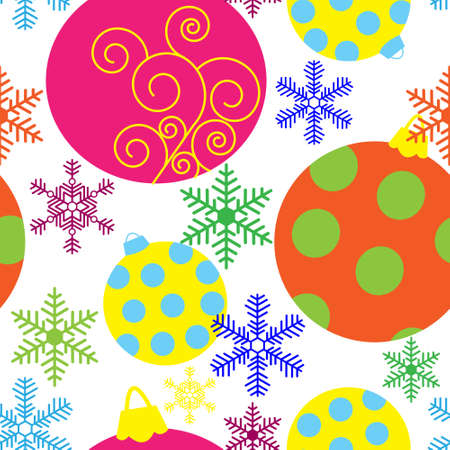 Greeting background with a Christmas theme Vector