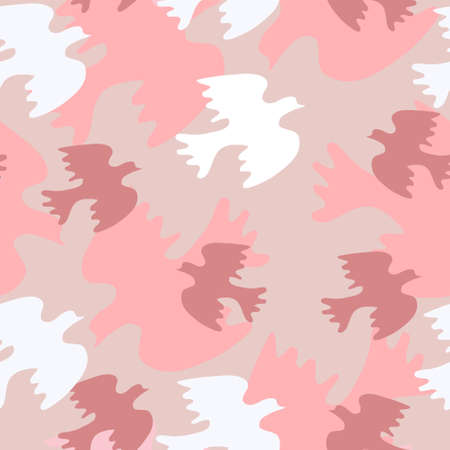 sweethearts: Seamless wedding pattern with a sweethearts