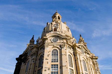 frauenkirche: Frauenkirche in Dresden, Sachsen, Deutschland Lizenzfreie Bilder