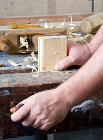 a portrait of a workman in his workshop Stock Photo - 5949047
