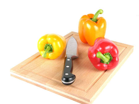 Food and Dining, details and close up of a pepper Stock Photo - 6613691