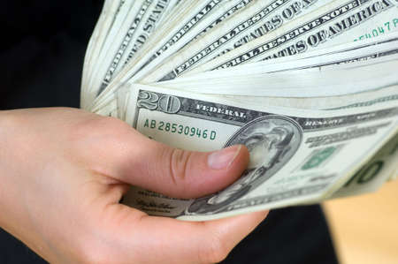 geld: Money, currencies, currency, detail and close-up of banknotes Stock Photo