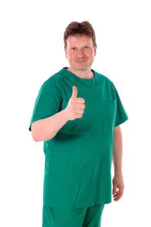 a portrait of a first aid man - medic, doctor Stock Photo - 8375929