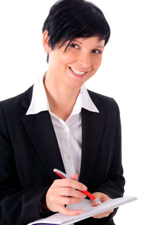 a portrait of a business woman Stock Photo - 8946420