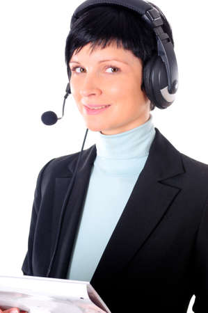 a portrait of a business woman Stock Photo - 8946424