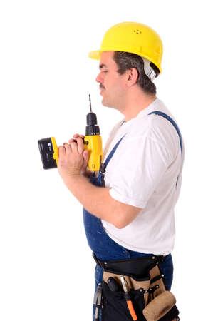 Craftsmen, laborers, mechanic - Portrait of a craftsman photo