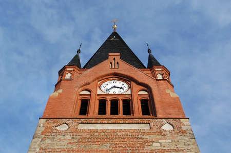 Detail of a small idyllic village church Stock Photo - 17023795