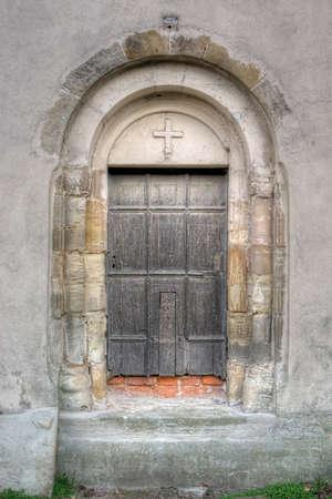 Detail of a small idyllic village church Stock Photo - 17062683