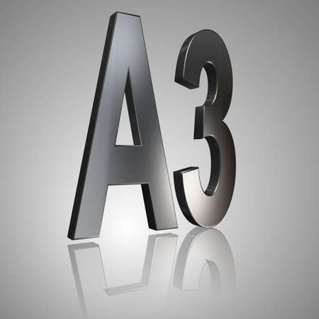 3D Illustrations: rating or rating code for assessing the creditworthiness of a debtor