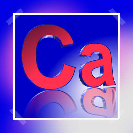 3D Illustration, 3D Rendering: rating or rating code for assessing the creditworthiness of a debtor; Code Ca Stock Photo