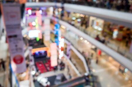 shopping mall interior: Blurred  Shopping Mall interior