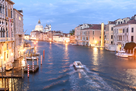 Venice, Italy - June 07, 2017: The Golden Tower by the late artist James Lee Byars in the Campo San Vio, on the edge of the Grand Canal for the 57th Venice Biennale.