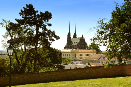 moravia: Cathedral of St. Peter and Paul in Brno, Czech Republic