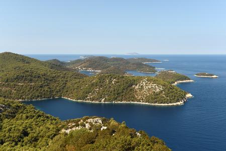 ラストヴォ島、クロアチア。