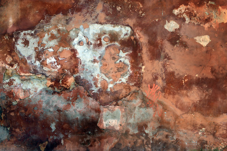 Ancient wall, background, texture, plaster, shabby paint, old cement plaster ancient shabby paint,