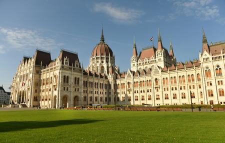 The Hungarian Parliament Building, Budapest, Hungari