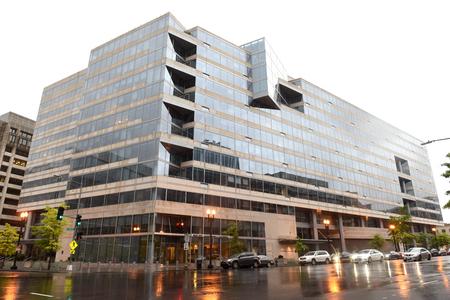 Washington, DC - 4. Juni 2018: Internationaler Währungsfonds, Gebäude des IWF-Hauptquartiers 2 (HQ2) in DC.