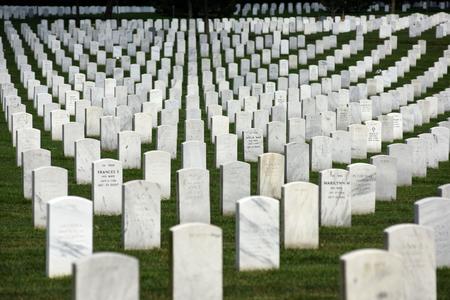 华盛顿特区- 2018年6月1日:阿灵顿国家公墓。