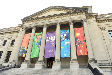Philadelphia, PA, USA - May 29, 2018: The Franklin Institute science museum, Philadelphia, USA