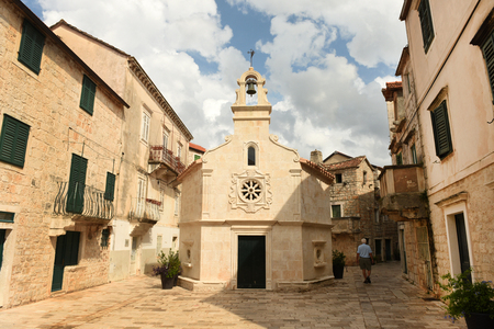 Church of Saint John in town Jelsa on island of Hvar, Croatia