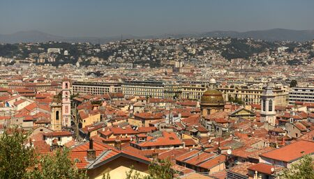 Cityscape of Nice, France. Panorama of the Nice. Reklamní fotografie