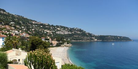 Roquebrune-Cap-Martin, Provence-Alpes-Côte dAzur, France. Cote dAzur of French Riviera.