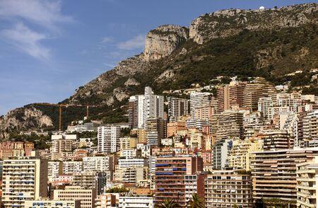 Cityscape of Monaco. Monaco Harbor