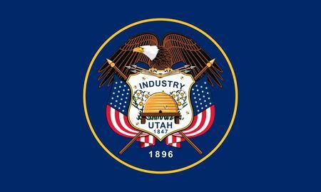 Flag of the State of Utah, USA