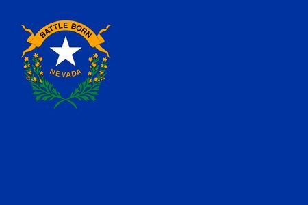 Flag of Nevada. State of Nevada Flag