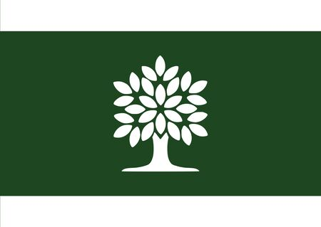 Flag of London province Ontario. Flag of Canadian City of London, Ontario, Canada