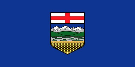 Flag of Canadian province of Alberta, Canada