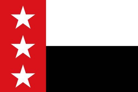 Flag of the City of Laredo, Texas, USA. 写真素材