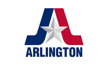 Flag of the City of Flag of the City of Arlington, Texas, USA., USA.