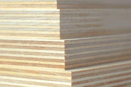Fußboden Isolieren ~ Isolieren sie makro sperrholzplatten gestapelt brett für fußboden
