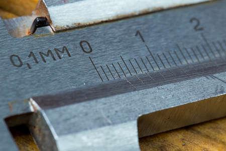 Macro photo, close-up range, high-precision hand-held measuring