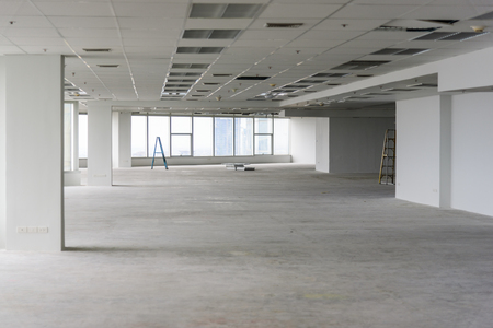 Room is under renovation or under construction. Stock Photo