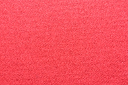 Close up of Red flannel or velvet on  billiard table Stock Photo