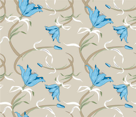 floral sample Vector