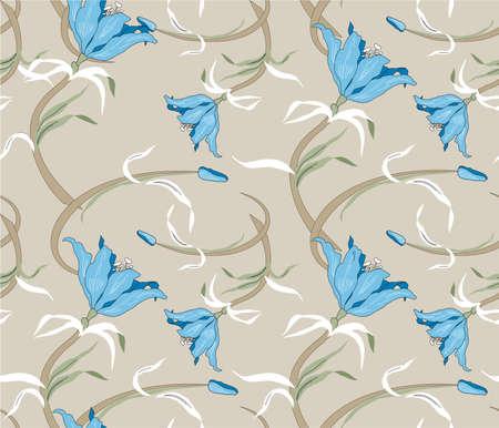 interlock: floral sample