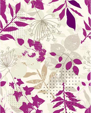 répétez l'échantillon floral