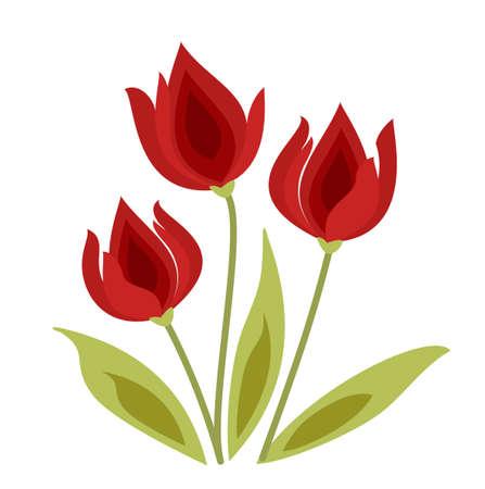 vector tulip Stock Vector - 6174016