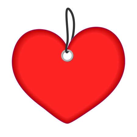 heart label Vector