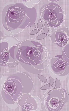 sample with roses Vector