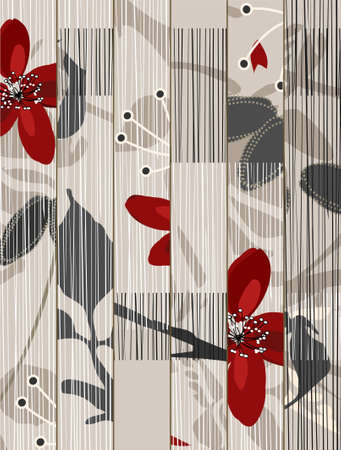 floral background Stock Vector - 6513409
