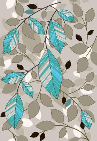 pattern di foglia