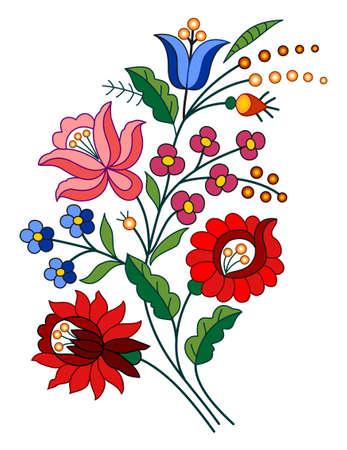 hungarian: Hungarian folk motif Illustration