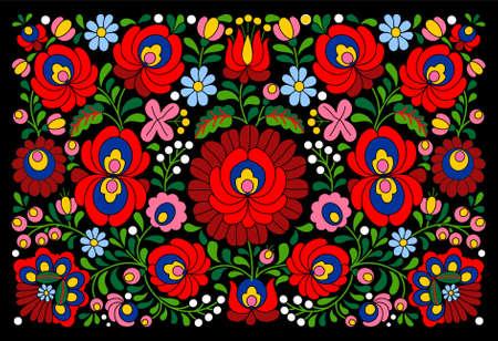 전통적인 정통 헝가리어 패턴