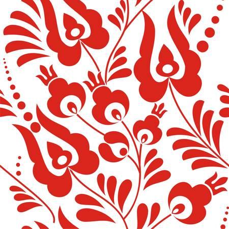 folk: Folk ornament pattern