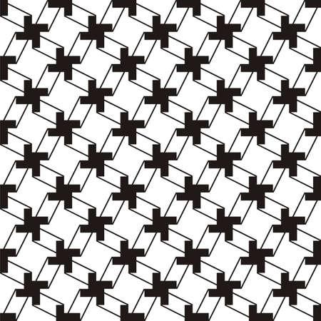 white  background: Geometric pattern Illustration